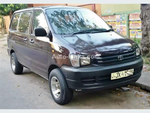 Toyota CR42 noah converted 2005 Vans For Sale in SriLanka