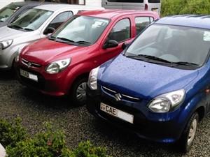 Alto 800 Car for Rent