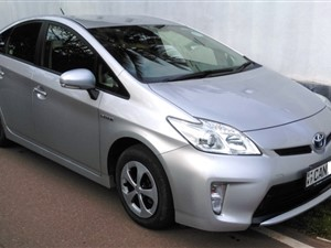 Toyota Prius 3rd Gen. New Shell Car for Rent