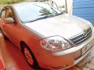 Toyota Corolla 121 For Rent