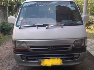 Toyota dolphin Van For Hire